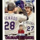 2016 Topps Heritage Combo Cards CC8 Trevor Story/Nolan Arenado