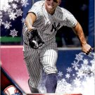 2016 Topps Walmart Holiday Snowflake HMW10 Brett Gardner