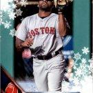 2016 Topps Walmart Holiday Snowflake HMW28 Jackie Bradley Jr.
