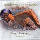 2016 Upper Deck Goodwin Champions 86 Haley Anderson