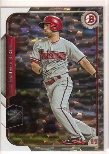 2015 Bowman Silver Ice 51 Chris Owings