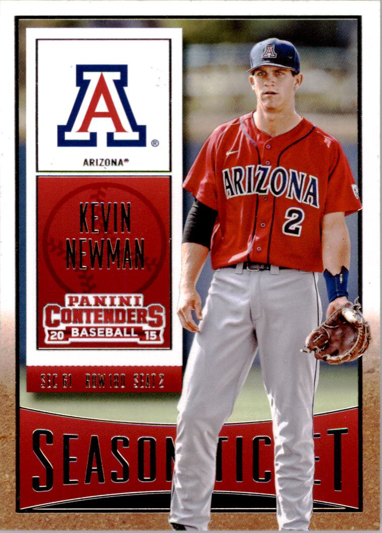 2015 Panini Contenders 60 Kevin Newman