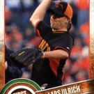 2015 Topps First Pitch FP22 Lars Ulrich