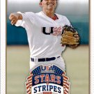 2015 USA Baseball Stars and Stripes 25 Corey Seager
