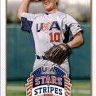 2015 USA Baseball Stars and Stripes 40 Gray Fenter