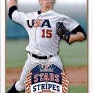 2015 USA Baseball Stars and Stripes 92 Thomas Eshelman
