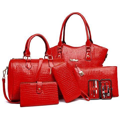 BAG SET RED