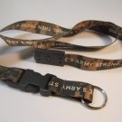 U.S. ARMY LANYARD NECKLACE KEYRINGS