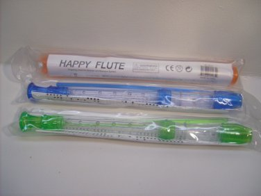 Happy Flute Instrument with Booklet Music Musical