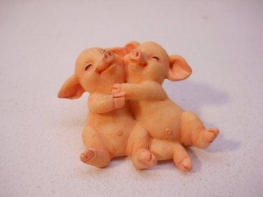 Pig Buddies Figurine Pigs Piglets Collectibles