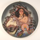 Native Indian Decorative Collectible Plates Plaque #Pts20