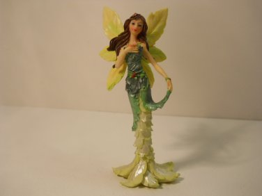 Beautiful Fairy with Glitter Decorative Figurine Hand Painted n731