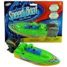 Toy High Speed Boat with  Driver & Engine n284