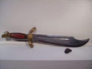 Knife Dagger with Protective Black Tip Vintage