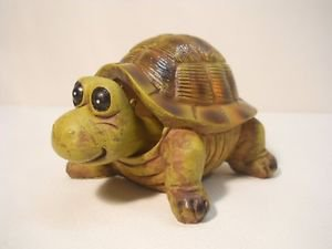 Bobbin Head Turtle Figurine Decorative Collectible  n832
