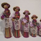 Dolls 5 pc Set Fancy Lace Delicately Handmade Crafted