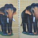 Wall Scroll With Elephant Hand Painted Scrolls Elephant