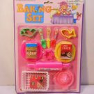Baking Set Pretend Play Assorted Baking Supplies  Dollhouse Toys  n127