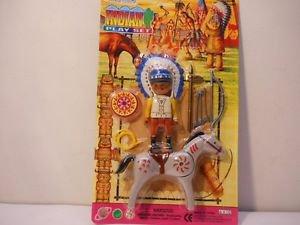 Native Indian Play Set Western Toy Set Pretend Play   n194