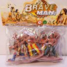 Indian Play Figures Western Toys Pretend Play Indian Set  n281