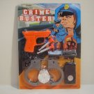 POLICE FORCE CRIME BUSTER DART GUN ACTION TOY PLAY SET  n176