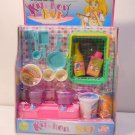 Miniature Kitchen Set for Kids Dollhouses  Style B  n179