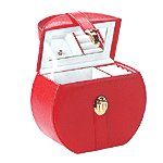 RED HANDBAG JEWELRY BOX