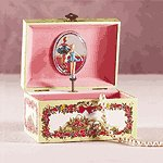 PAPER MUSICAL JEWELRY BOX