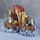 ALAB. NOAH'S ARK BOOK ENDS