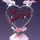 COLOR GLASS  LOVE HEART
