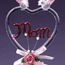 COLOR GLASS  MOM HEART