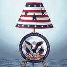 AMER. EAGLE PLATE LAMP