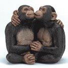 ALAB. KISSING MONKEY COUPLE