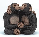 ALAB. KISSING MONKEY COUPLE