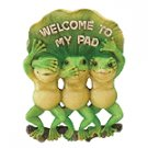 ALAB. WELCOME TO MY PAD FROGS