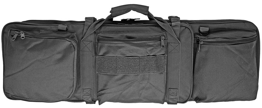 "Black 32"" Tactical Hunting Gun Rifle Range Premium Case Bag Backpack M4 M16 AR10 AR15"