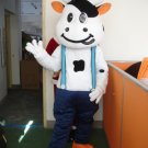 Free ship cow farm  animal Christmas Mascot Costume Cartoon Adult size Festival Party