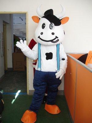 Free ship cow farm  animal Christmas Mascot Costume Cartoon Adult size Festival Party