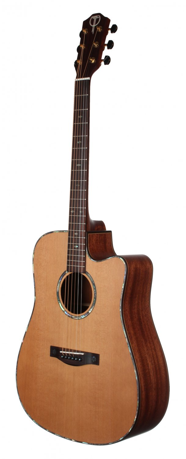 Teton STS205CENT Cedar Top Acoustic Electric Guitar