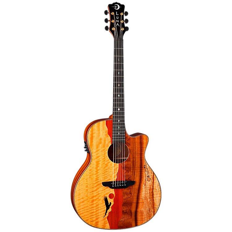 Luna Vista Eagle Acoustic/Electric Guitar - Tropical Wood