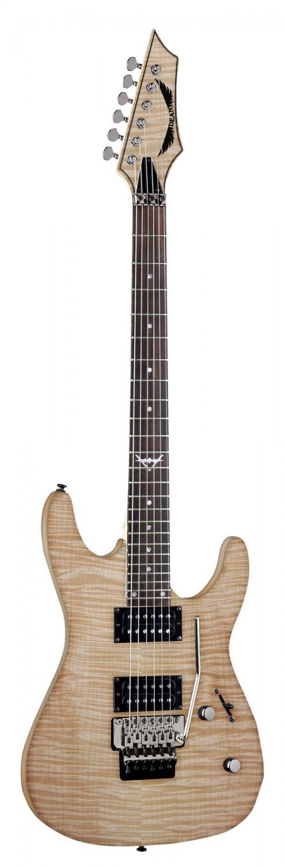 Dean Custom 350 Floyd Electric Guitar - Gloss Natural