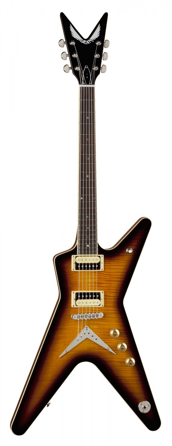 Dean ML 79 Electric Guitar - Trans Brazilia