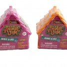 Nat Geo's Animal Jam Adopt A Pet Minifigures. Set of 4 Blind Houses (colors vary)