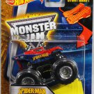 Hot Wheels Monster Jam. Spider-Man with Stunt Ramp #27