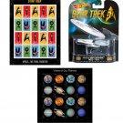 Star Trek Space Exploration USPS Stamps and U.S.S Enterprise NCC 1701 Model