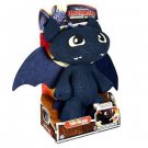"How to Train Your Dragon. Toothless Squeeze and Growl 12"" plush"