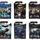 Hot Wheels 2015. Batman Complete Set of 6 Exclusive Diecast Vehicles