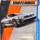 Matchbox, 2016 MBX Adventure City, Mercedes-Benz SLR McLaren silver 29/125