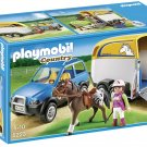 Playmobil SUV with Horse Trailer 5223.