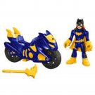 Fisher-Price Imaginext Batgirl & Batcycle Pack Action Figure